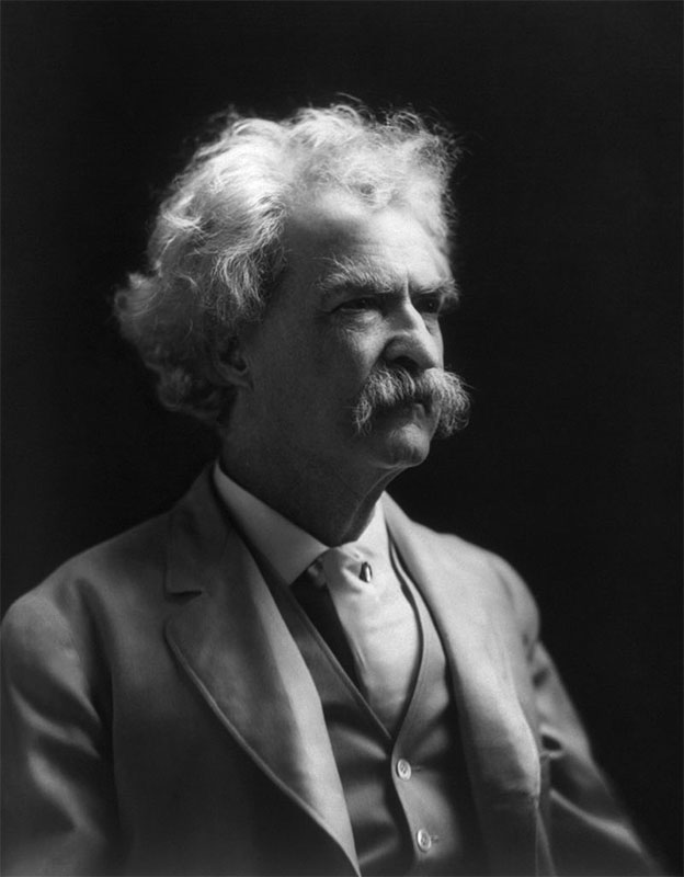 Mark Twain visited Scone as part of his 1895 world tour