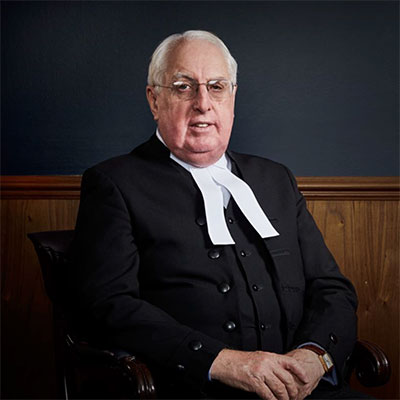 Chief Justice Greg James QC, AM