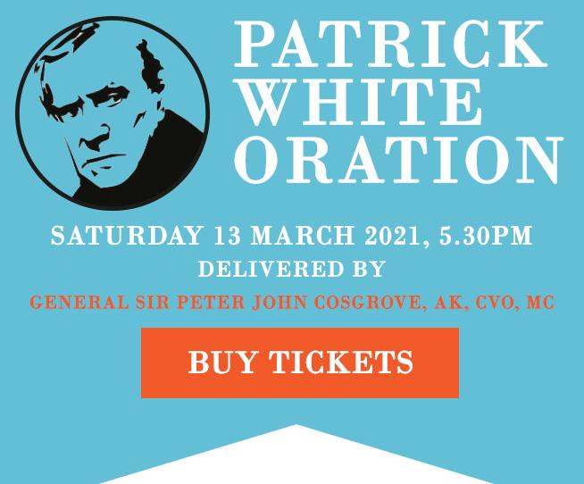 Patrick White Oration